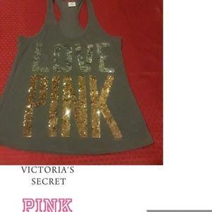 Pink Victoria's secret top